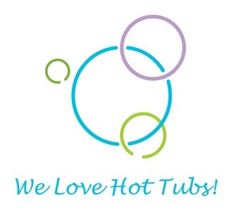 We Love Hot Tubs! Logo