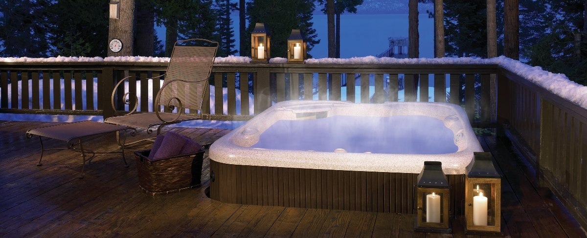 winter news from We Love Hot Tubs